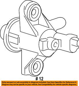 Details about FORD OEM-Vapor Canister Purge Valve AU5Z9C915B