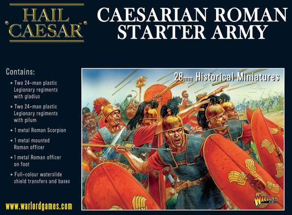 Caesarian Rohomme Démarreur - Hail Caesar - Warlord Games -  1ST Classe  bas prix