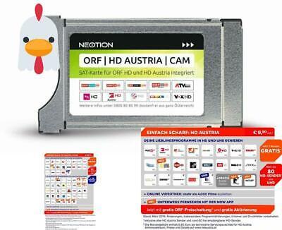 100% Wahr Orf | Hd Austria | Cam Tv Modul Mit Integriertem Sat-karte Chip Für Orf Und Hd Stabile Konstruktion