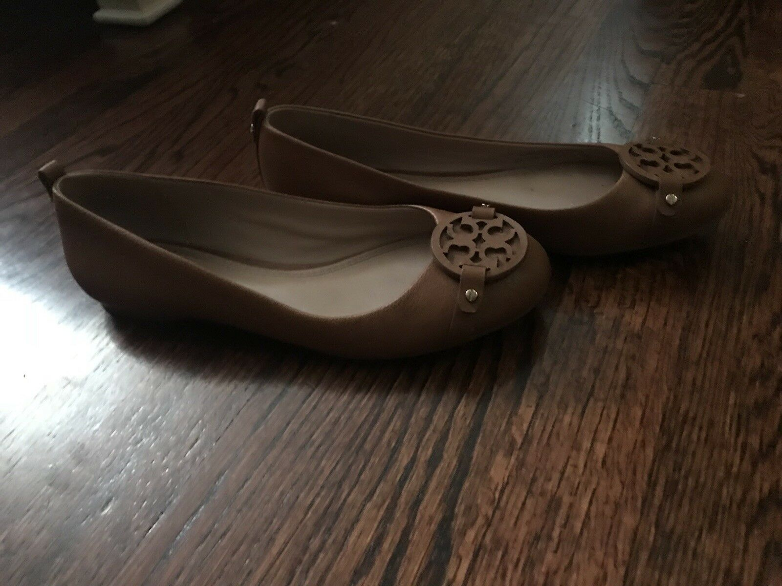 Tory burch flat shoes women size 7