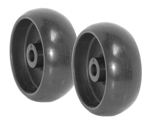 Set of 2 Mower Deck Wheels Replace John Deere GX10168