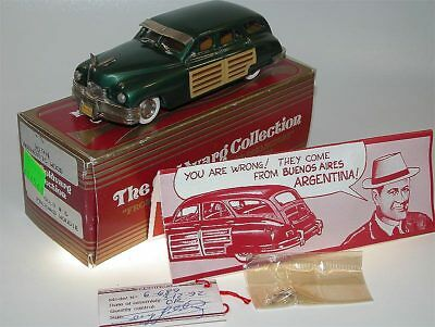 Goldvarg Collection No. 06, 1946 Packard Woodie, green, 1/43 m/b