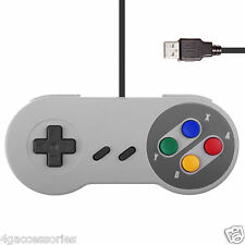 USB PC Retro Gaming Controller Gamepad Snes Style Pad UK