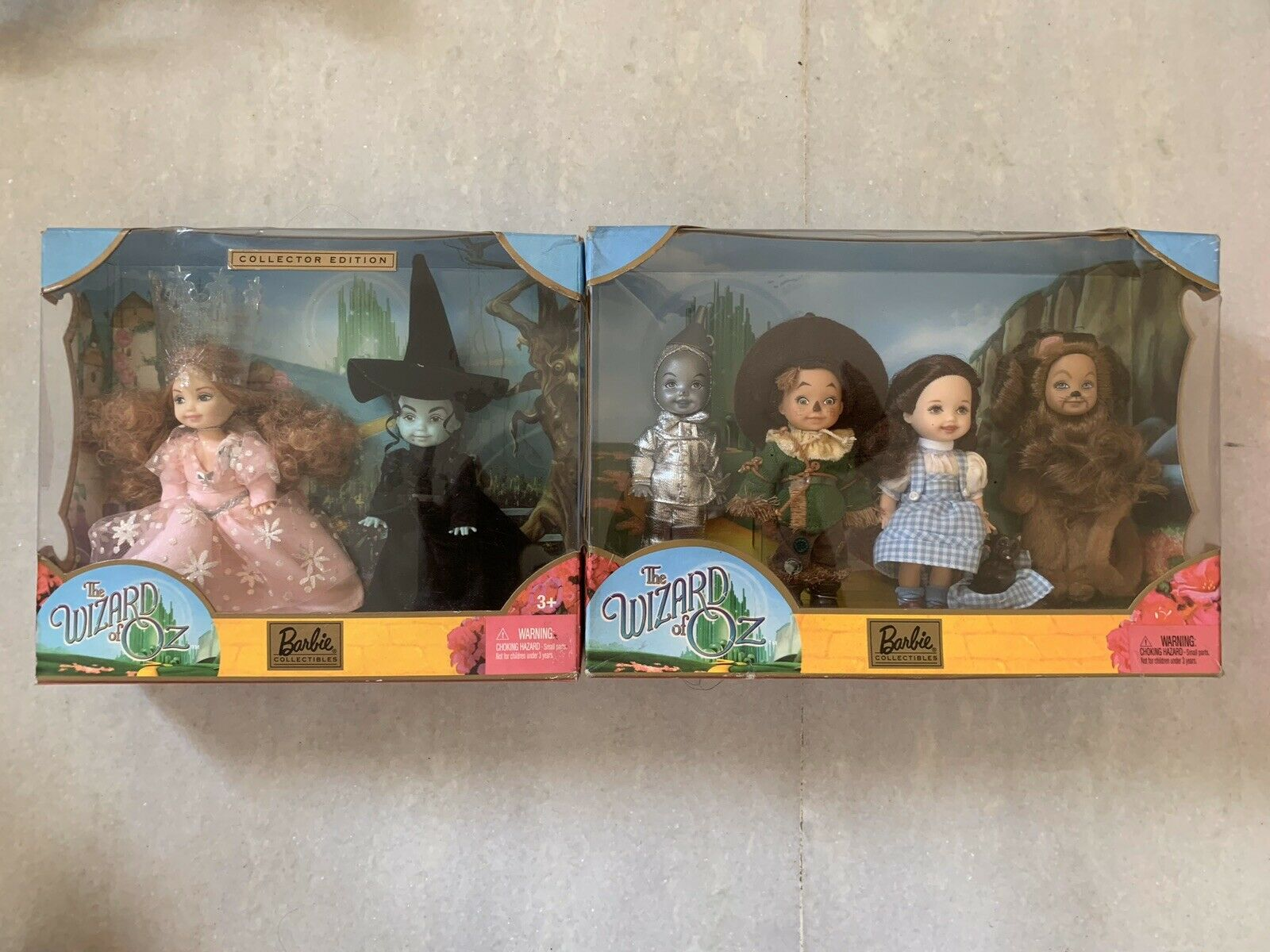 The Wizard of Oz Gift Set 2003 Kelly Dolls, NRFB