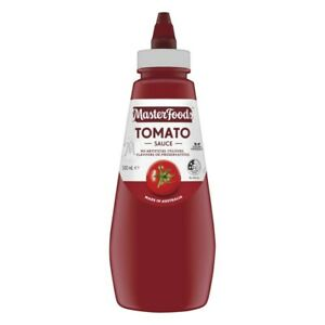 MasterFoods Sun-Ripened Traditional Blend Tomato Sauce Squeezy Bottle 500mL