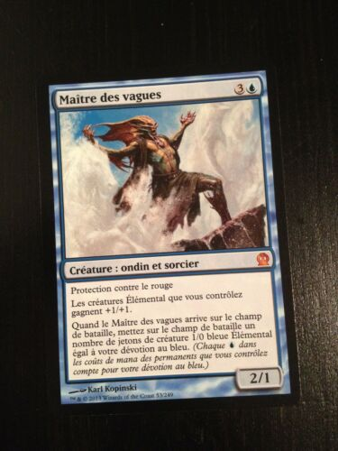 MTG MAGIC THEROS MASTER OF WAVES NM FRENCH MAITRE DES VAGUES NM