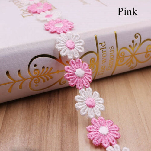 Sun Flower Sewing Accessories Apparel Fabric Lace Trim Water Soluble Lace