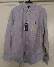 U.S. Polo Assn Mens Button Up Long Sleeve Medium NWT
