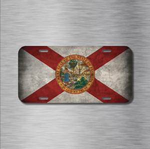Miami Ink Florida aluminum License Plate