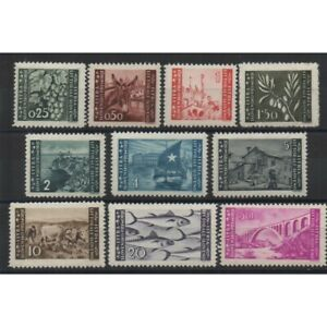 1945-Littoral-Slovene-Occupation-Yougoslave-10-Val-MNH-Sass-N-41-50-MF61355