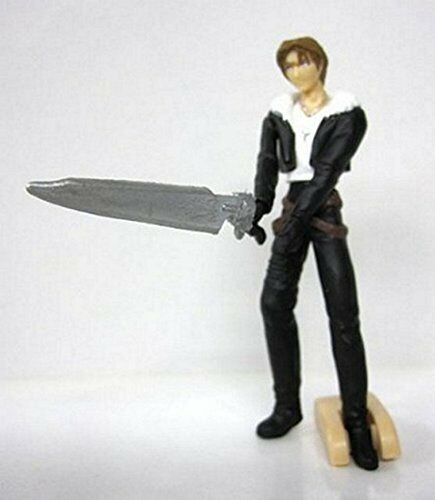 Final Fantasy VIII Bandai HG Gashapon Figure-Squall Leonhart mini