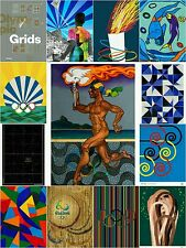 """13 Pcs Rio 2016 Art Official Complete Set For Olympic Games Silk Posters 24""""X36"""""""
