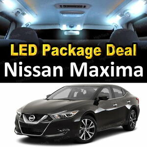 Image Is Loading 11x White LED Lights Interior Package Deal For