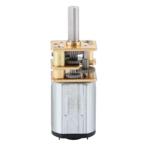 DC 3V 6V 12V 50~2000r//min N20 Micro Speed Rad GetriebeMotor für Modellbau NEU