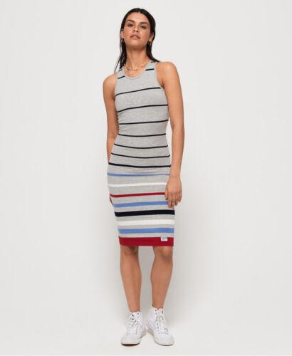 Superdry Womens Stripe Midi Dress