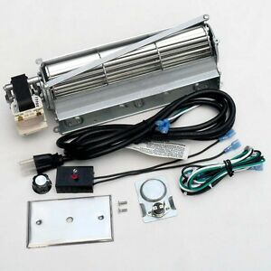 Universal Squirrel Blower Fan Kit For Wood Gas Burning