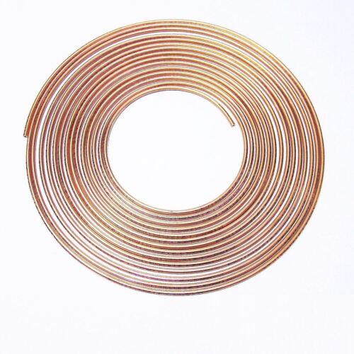 Bremsrohrleitung Bremsrohr Bremsleitung 10m Kupfer 4,75 mm