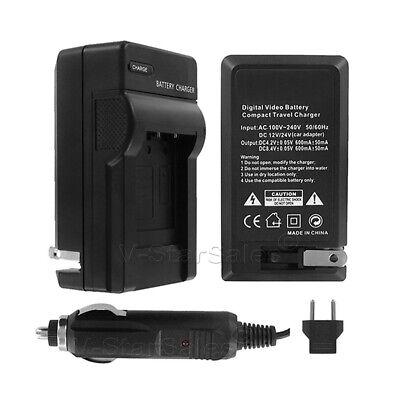 FS30 LCD USB Travel Battery Charger for Canon FS10 FS31 FS11 FS22 FS20 FS40 Flash Memory Camcorder FS21