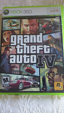 Grand Theft Auto IV XBOX 360 Video Game M Mature Live