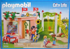 Playmobil-US-5634-Kindergarten-Vorschule-Kinder-Spielsachen-Schaukel-NEU-NEW