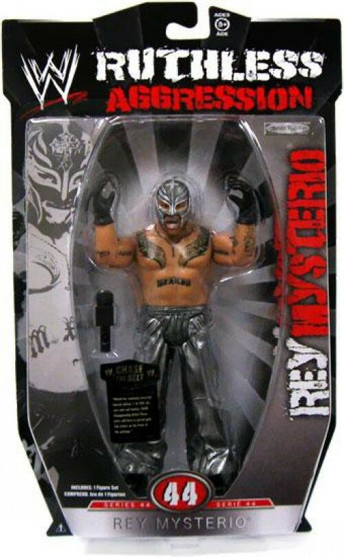 WWE Wrestling Ruthless Aggression Series 44 Rey Mysterio Action Figure