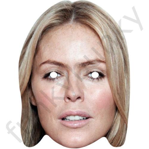 Patsy kensit célébrité actrice carte masque-toutes nos masques sont pré-coupé!