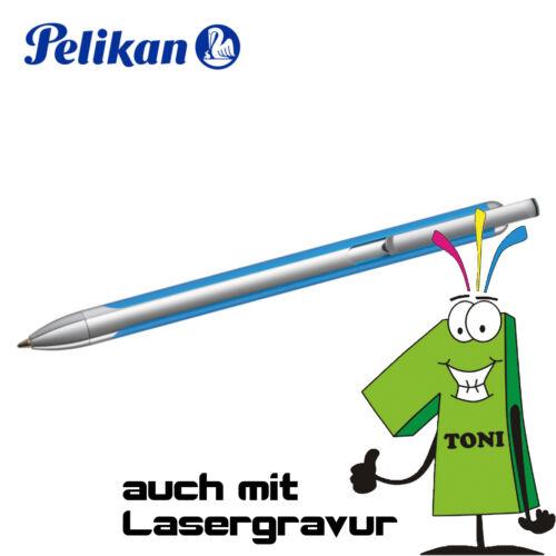 Pelikan Kugelschreiber VIO metall Gravur möglich Kuli verschiedene Farben