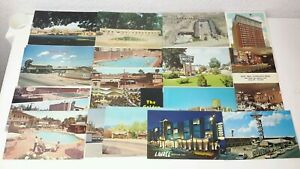 Lot-of-20-Vintage-Retro-Motel-Lodge-Hotel-Inn-Postcards-3-5-039-039-x-5-5-039-039-60-039-s-70-039-s
