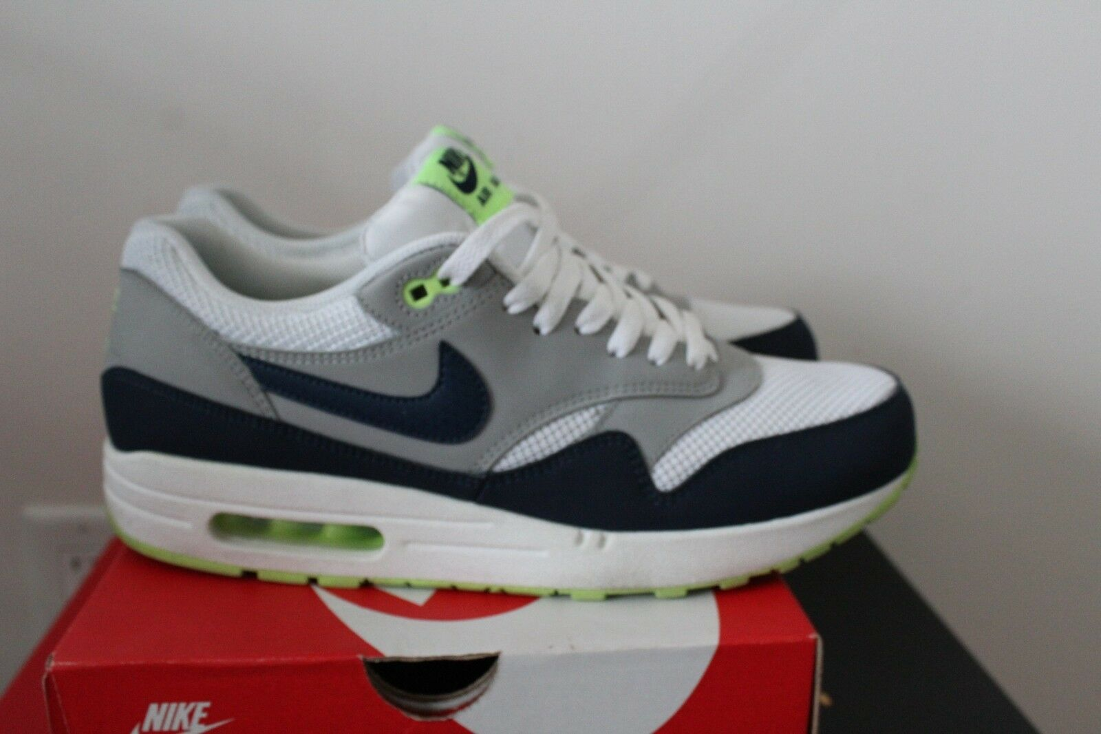 Nike Air Max 1 - Size 11 - Seattle Seahawks - 100% Original w Box