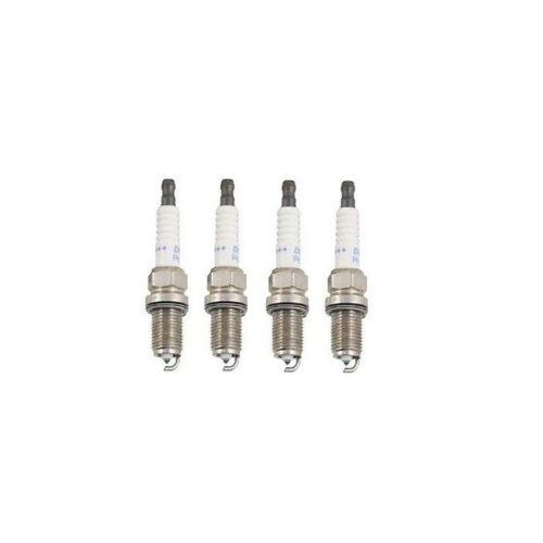 Set of 4 Denso Dbl Platinum Spark Plugs PK22PRL11 for Honda Civic S2000