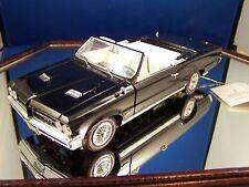 1964 FRANKLIN MINT PONTIAC GTO CONVERTIBLE 1-24 MINT IN THE BOX W/ PAPERS LTD