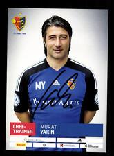 Murat Yakin Autogrammkarte FC Basel 2013-14 Original Signiert+A 154489