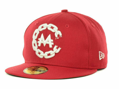New Era 59FIFTY Crooks /& Castles MONOPOLY CHAIN C Hat Red Cap Green RARE 5950