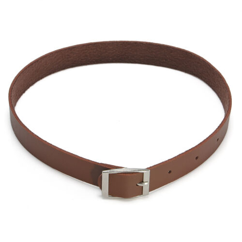 Hot Men Women Gothic Leather O Ring Spike Rivet Choker Necklace Collar Jewelry