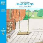 What Katy Did by Susan Coolidge (CD-Audio, 2008)