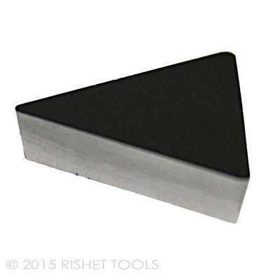 10 PCS RISHET TOOLS TPU 222 C5 Uncoated Carbide Inserts