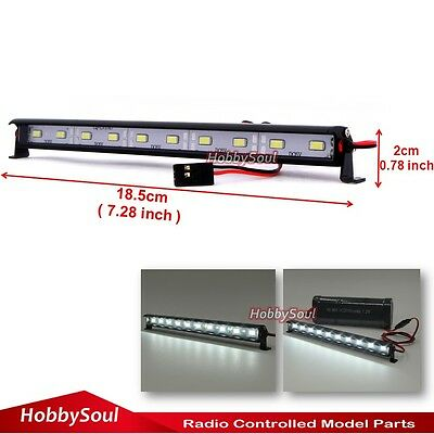 1//10 New RC LED Light Bar 6~7.4V JR Plug for RC 4WD Axial HPI Crawler Body Shell