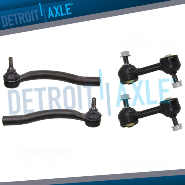 6pc Front Upper Control Arms See Fitment Ball Joints /& Outer Tie Rods for 2002-2007 Buick Chevy GMC Isuzu Oldsmobile 16mm Thread Models Detroit Axle
