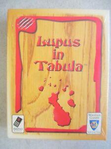 MIB-SEALED-2004-DAVINCI-MAYFAIR-GAMES-LUPUS-IN-TABULA-CARD-GAME-GERMANY