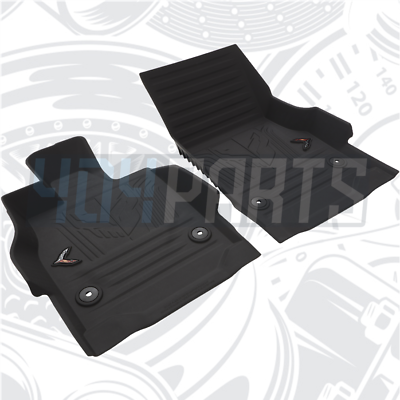 Nylon Carpet CFMBX1CH7719 Black Coverking Custom Fit Front and Rear Floor Mats for Select Chevrolet Brookwood Models