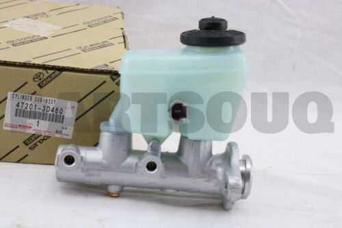 472013D460 Genuine Toyota CYLINDER SUB-ASSY BRAKE MASTER 47201-3D460