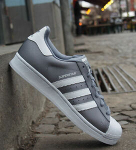 adidas superstar bianco grigio