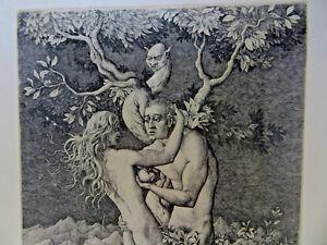 Acheter Pas Cher Peter Proksch Der Sundenfall 1967 Signé à La Main 33/120 Lithographie Autrichien
