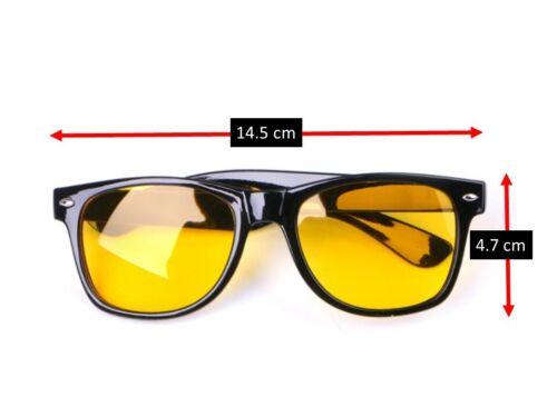 Yellow Tinted Computer Sunglasses Eye Strain Perfect for Gaming Anti Glare Glass