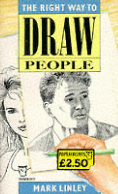 Right Way to Draw People (Paperfronts), Linley, Mark, Very Good Book