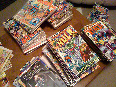 Indy no duplicates 5 inch stack of 75 comics lot Marvel free shipping! DC