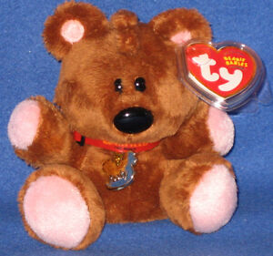 TY POOKY the BEAR BEANIE BABY - MINT with MINT TAGS
