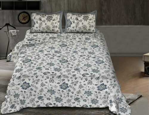 Details about  /Floral Multi Print 100/% Pure Cotton Fabric Bed Sheet With 2 Cushion Cover