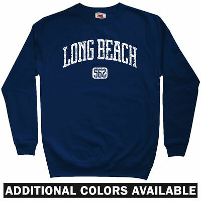 Cali Los Angeles LBC State 49ers Crewneck  Men S-3XL Long Beach 562 Sweatshirt