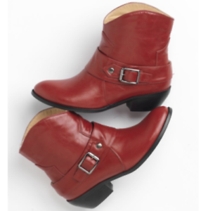 b8f47c8bc99 Women's Shoes Western Short Boot Red 6.5 W Wide Seventh Avenue ...
